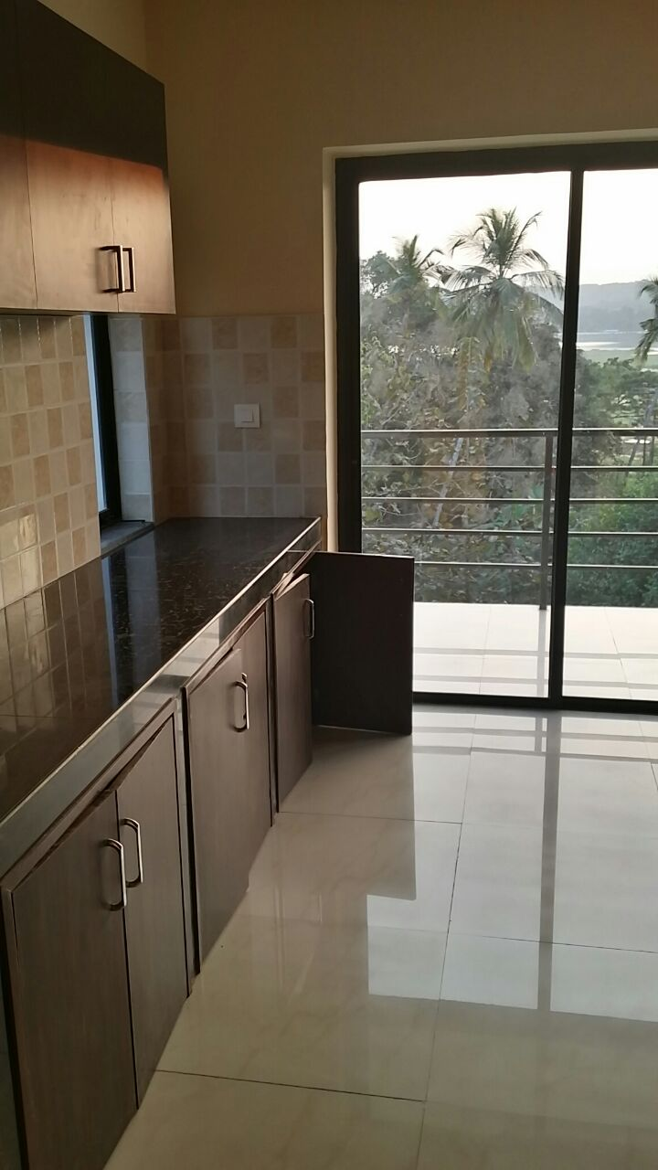 goa beach holidays goa bhk living room   Available Semi Furnished 3bhk penthouse for rent at Corlim ...